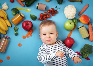 La diversificación alimentaria según la edad