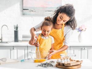 Cocinar con los niños
