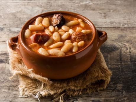 Fabada asturiana. Recetas con legumbres para toda la familia