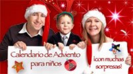 Calendario de adviento digital para niños de manualidades