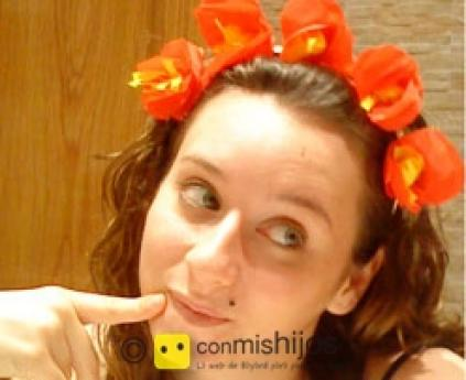 Flowers hair band
