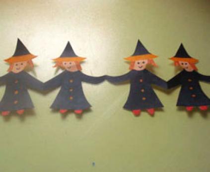 Guirnalda de brujas