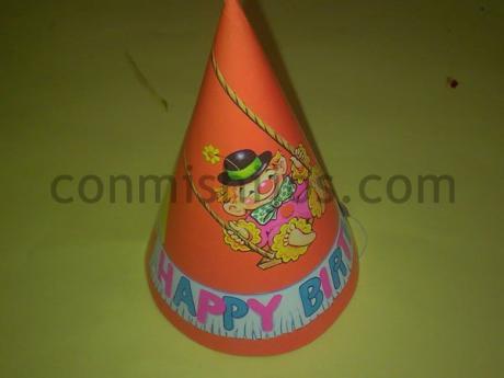Gorro de fiesta. Manualidad de Carnaval para niños