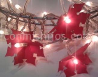 Guirnalda navideña de luces