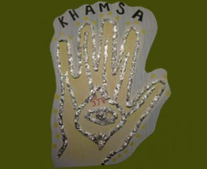 Khampsa o mano de la buena suerte