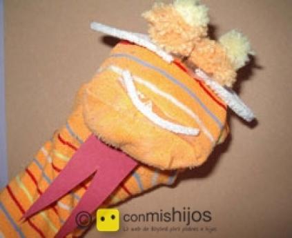 Lizzard puppet