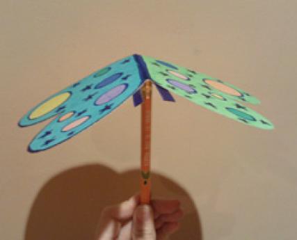 Mariposa balancín