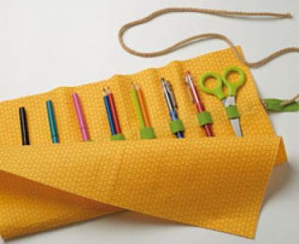 Estuche de lápices, manualidad de reciclaje para los niños