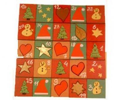 Calendario de navidad manualidades para ni os for Calendario manualidades