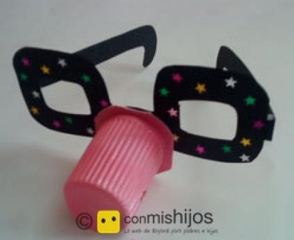 Clown glasses
