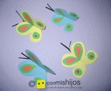 Butterflies mobile