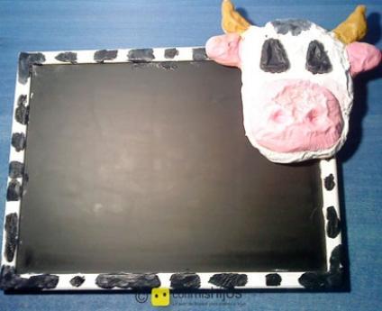 Cow blackboard