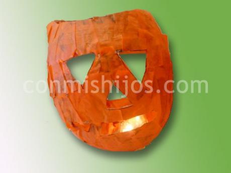 Calabaza de halloween manualidades para ni os - Calabazas halloween originales para ninos ...