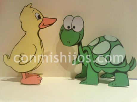 Animales de cartulina. Manualidades decorativas para niños