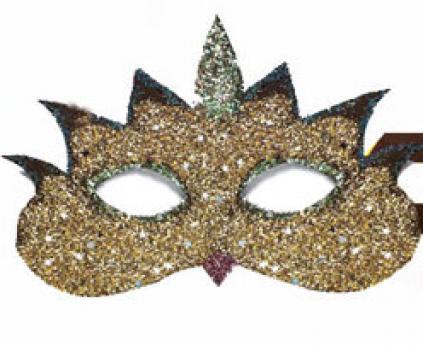 Antifaces de Carnaval. Manualidades de cartulina para niños