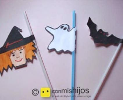 Straws for Halloween