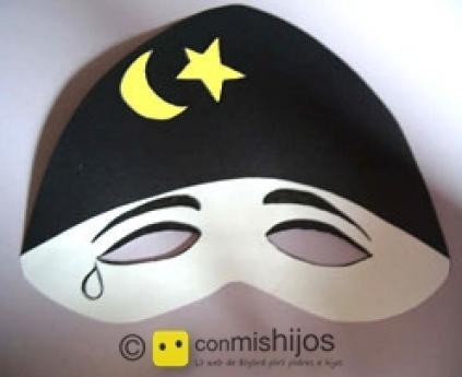 Pierrot´s mask