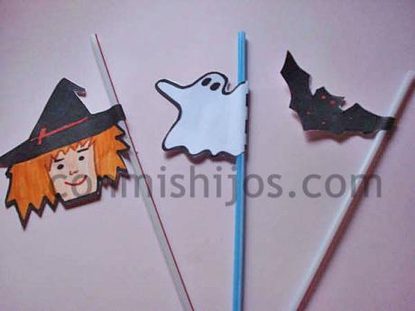 Manualidades Halloween Ninos.Pajitas De Halloween Para Beber Refrescos Manualidades Para Ninos