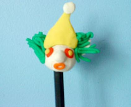 Muñeco para el lápiz