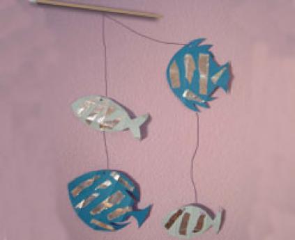 Móvil de peces