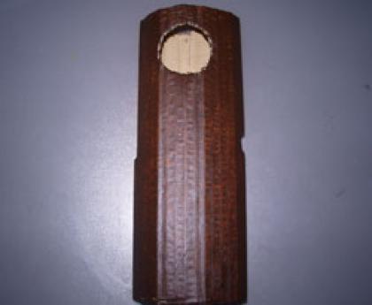 Disfraz de tronco de árbol. Manualidades de Carnaval