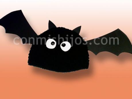 Gorro de murciélago. Manualidades de disfraces para niños