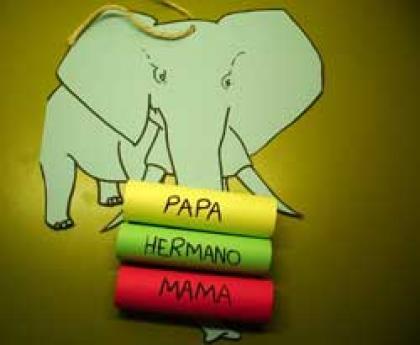 Elefante portamensajes