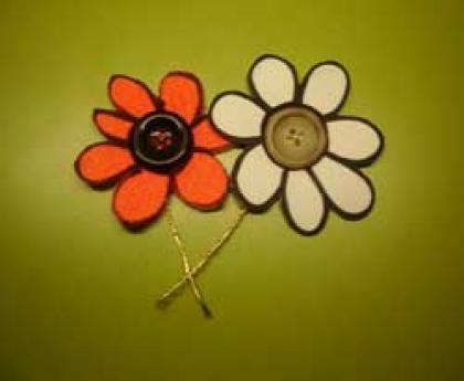 Flores-botón