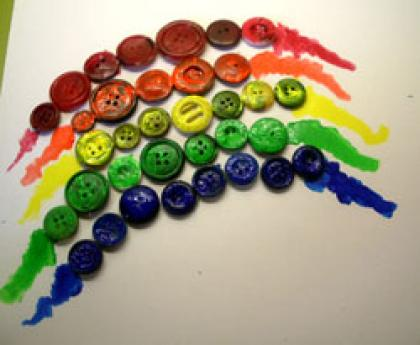 Arcoiris de botones