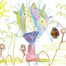 Celia Moya Moreno, 4 años