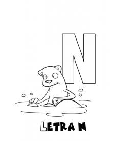 Letra N