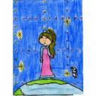 Violeta Pecci Priego, 8 años