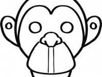 Careta De Mono En Conmishijoscom