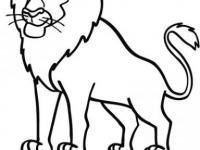 Dibujo Para Imprimir Y Pintar Del Rey León Dibujos De Animales