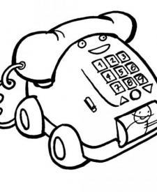 Teléfono de juguete