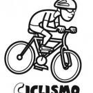 Dibujos infantiles de ciclismo para colorear con los niños
