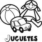 Dibujos de juguetes para imprimir y colorear con los niños