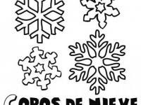 Copos De Nieve En Conmishijoscom