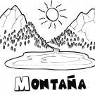 Montaña en verano
