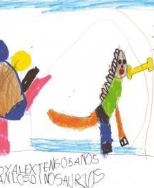 Alex, 5 años