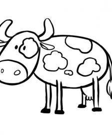 Vaca con manchas