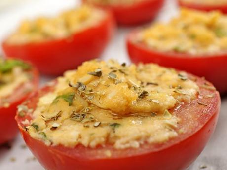 Tomates rellenos receta f cil para cocinar con ni os for Cocinar berenjenas facil