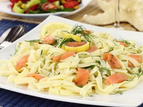 Ensalada de pasta con salm n recetas f ciles para ni os - Platos faciles para cocinar ...