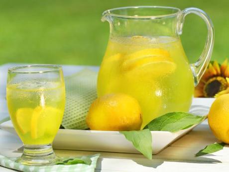 Limonada para niños, postre refrescante y saludable