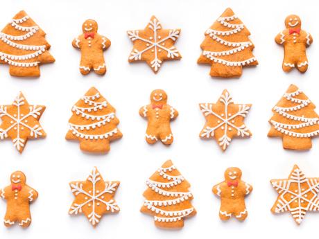 Galletas de Navidad. Recetas para niños