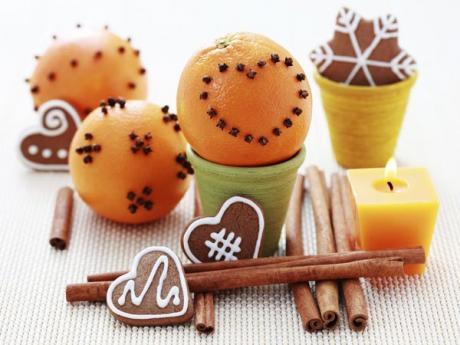 Naranjas navideñas. Recetas de frutas