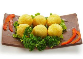 Bolitas de patata para niños