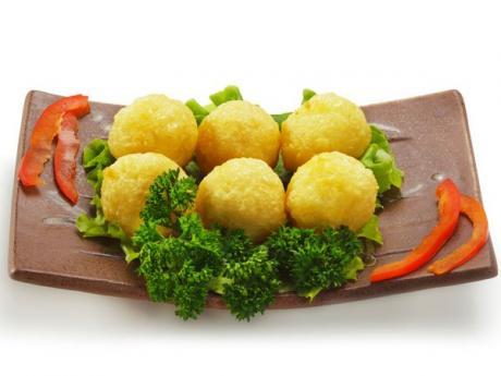 Bolitas de patata para niños. Recetas de entrantes