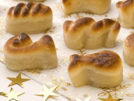 Receta de mazapán para niños. Dulces de Navidad