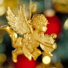 Tarjeta online de un angelito de Navidad para enviar por email